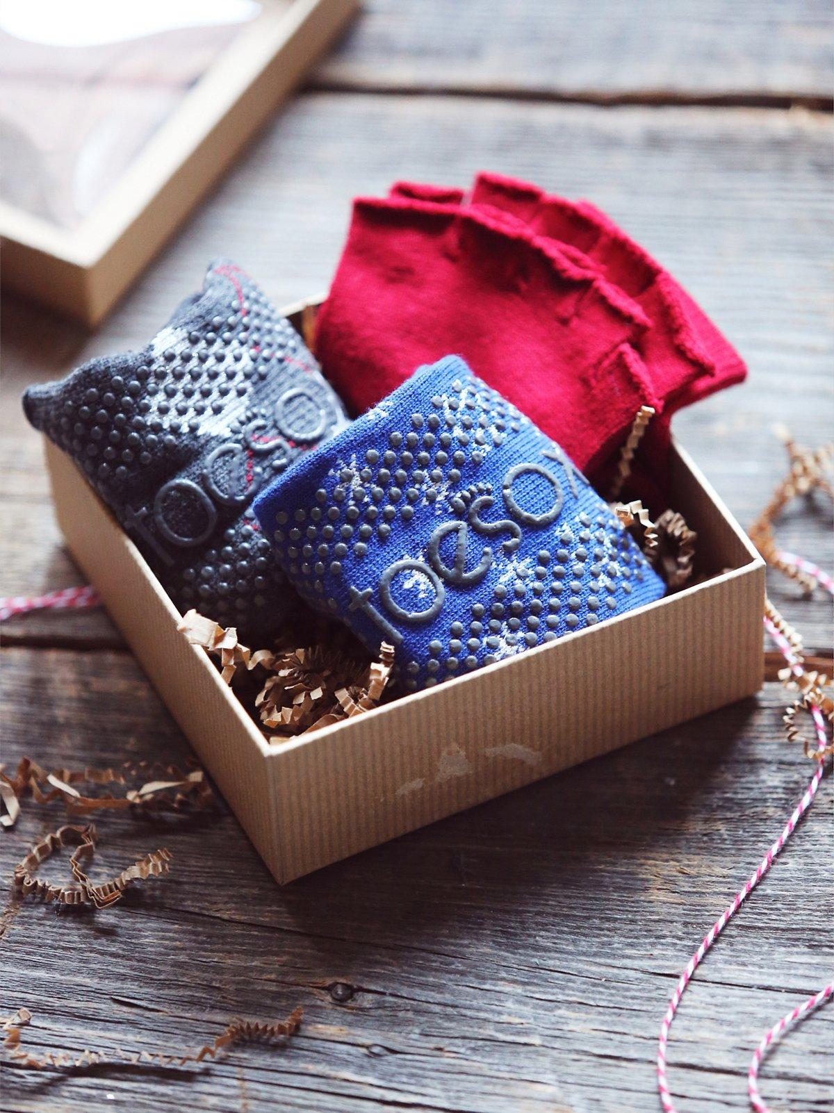 Toesox + FP Holiday Gift Box