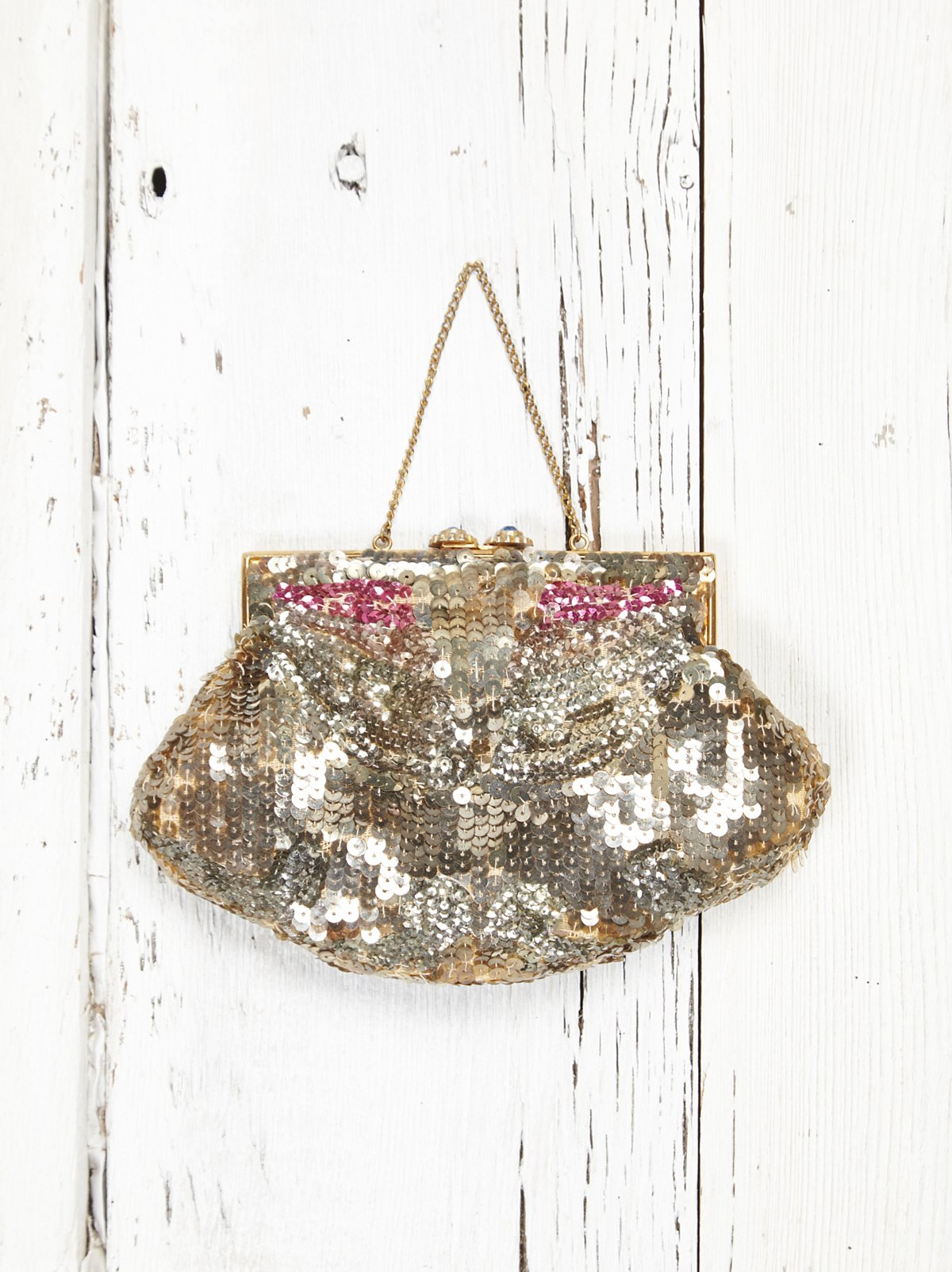 Vintage 1920s Sequin Clutch