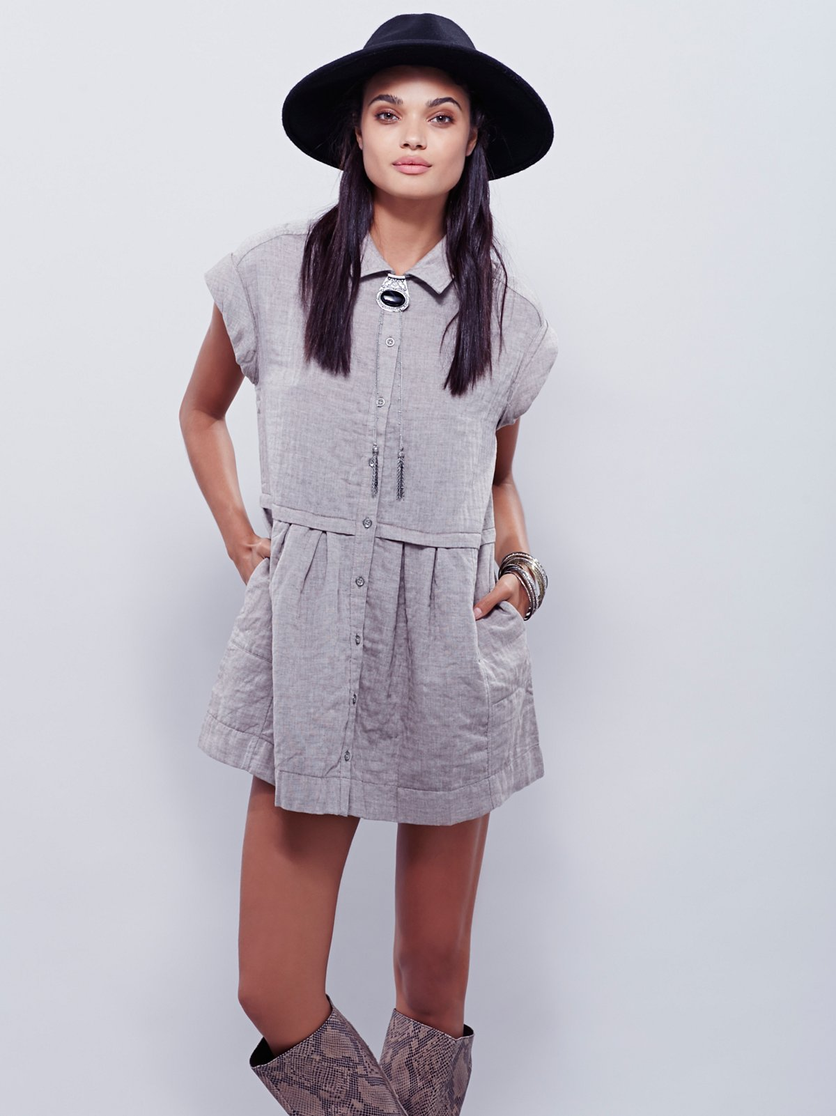 New Moon Babydoll Dress