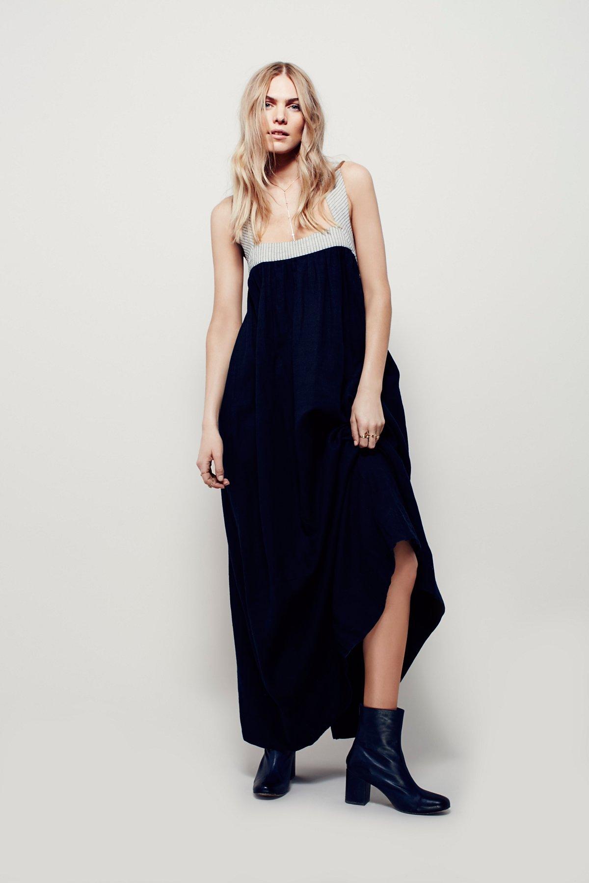 柔软质感长裙
