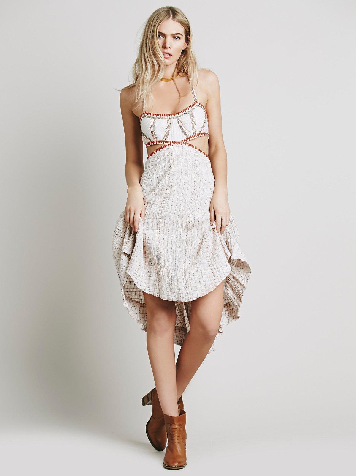 Smock Stitch Dress