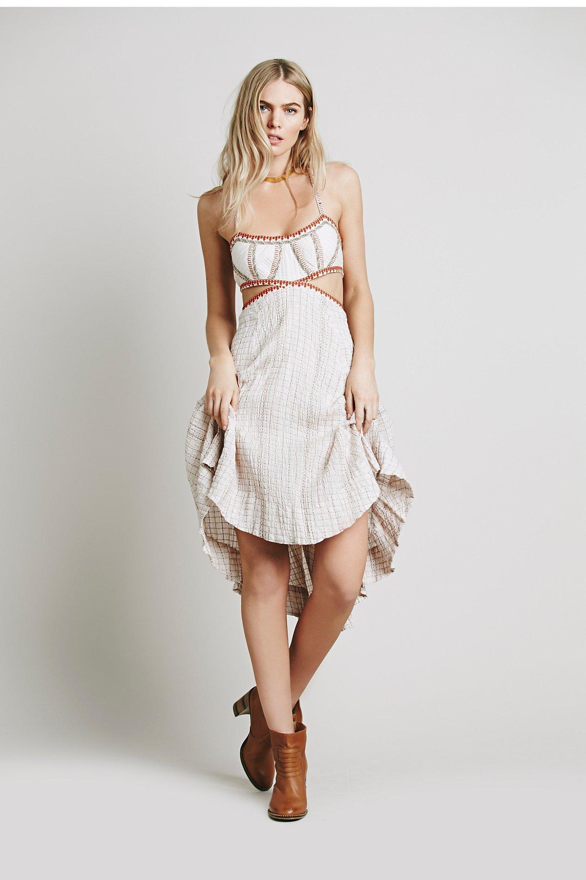 针织罩衫连衣裙