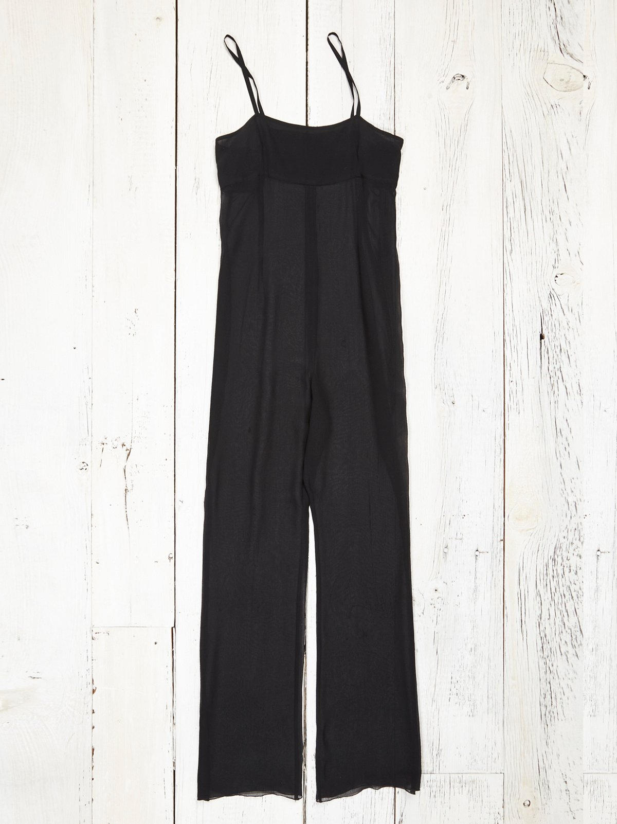 Vintage Silk and Chiffon Jumpsuit