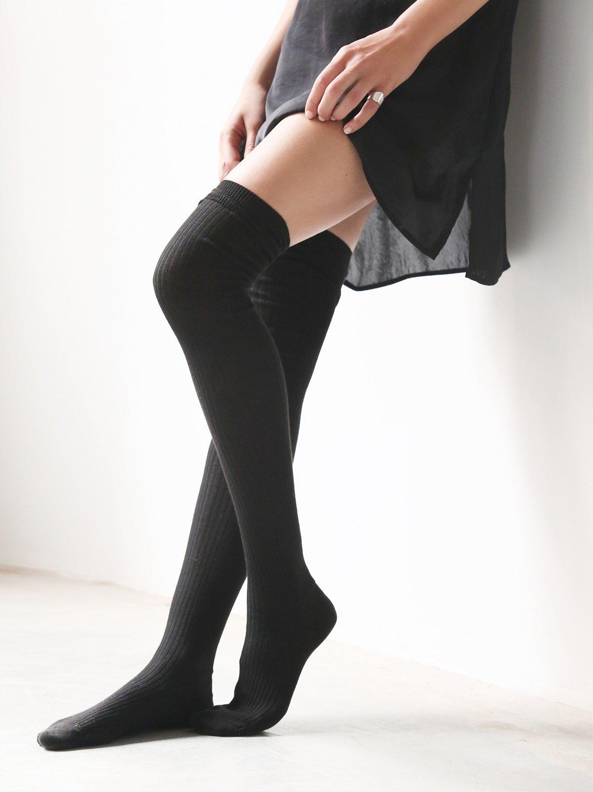 Aran Thigh High Sock