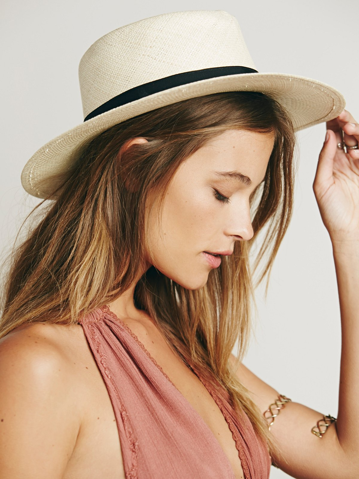 Optimo Straw Hat