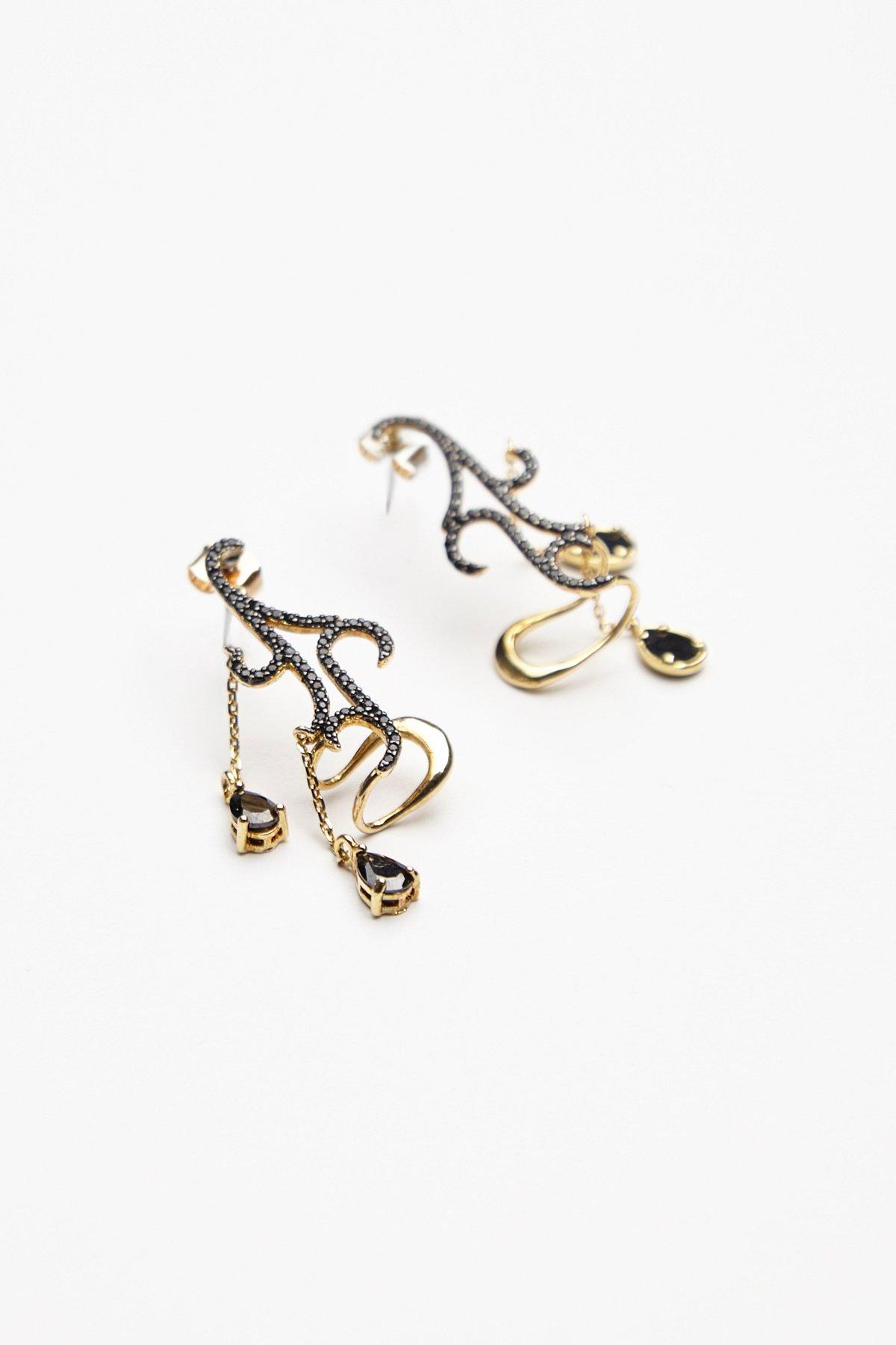 Lumier Stone Earrings