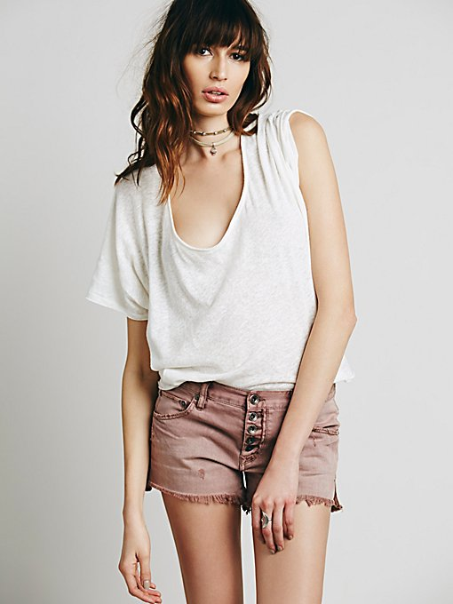 Product Image: Runaway Slouch Cutoffs