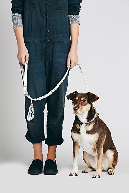 Product Image: Blake Braided Leather Leash