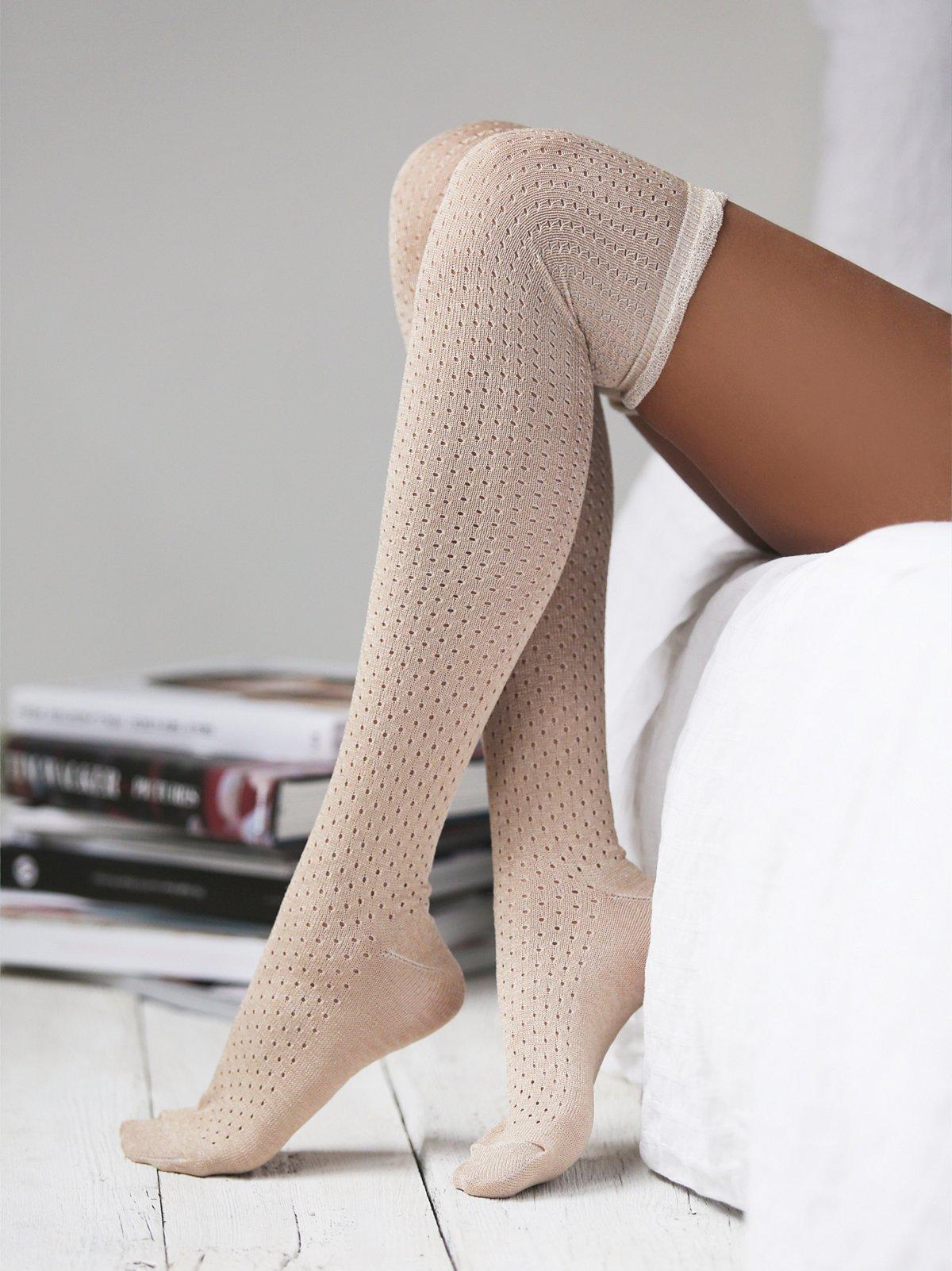 Crosstown高筒袜