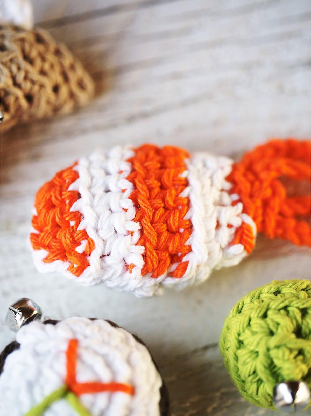 Hand Knit Sushi Toy Set