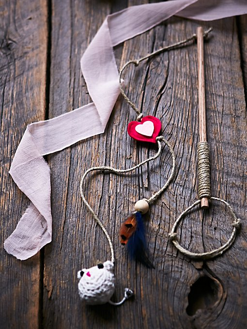 Product Image: Handmade Wand Cat Toy