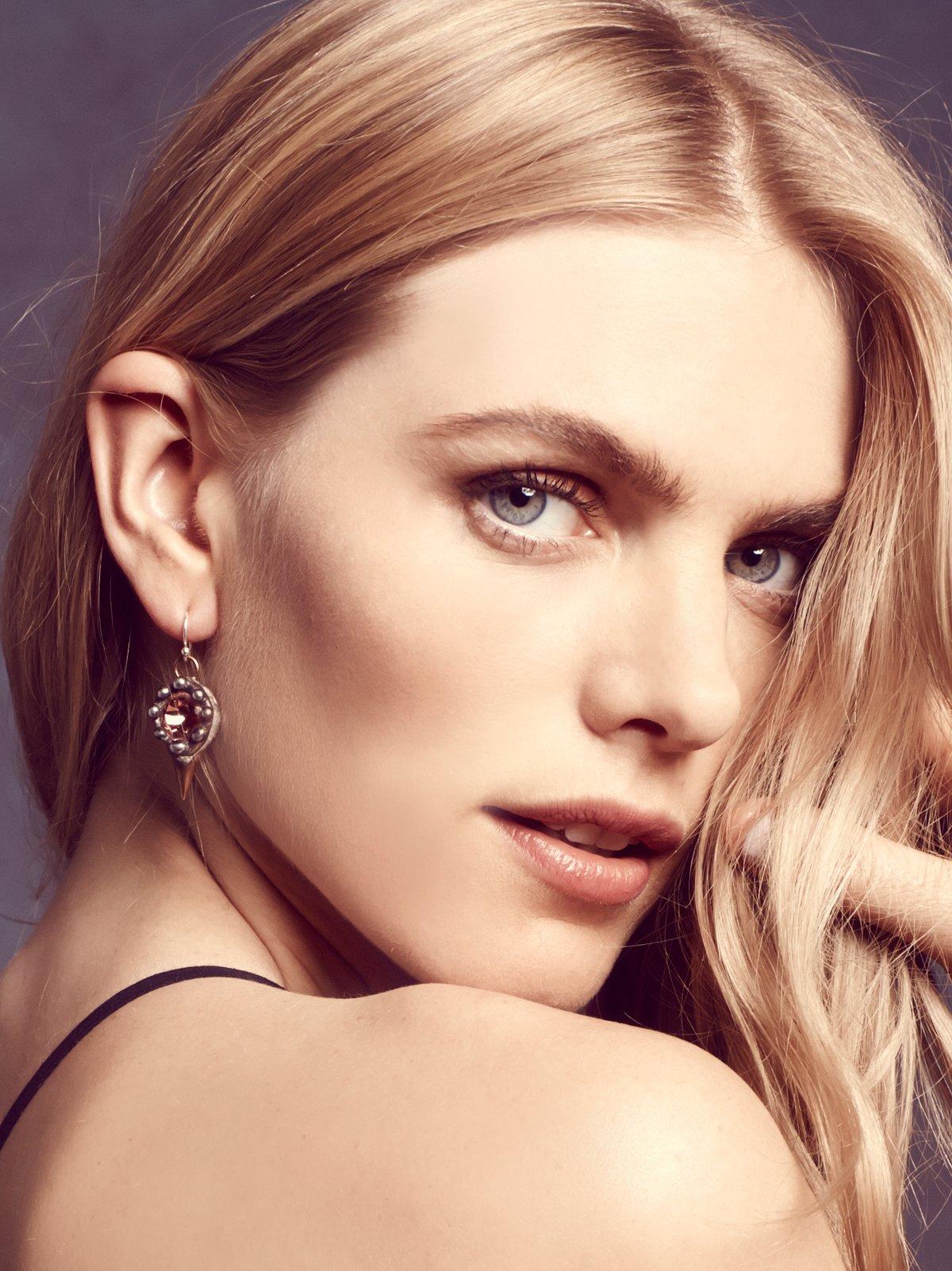 Crystal Spike Earring