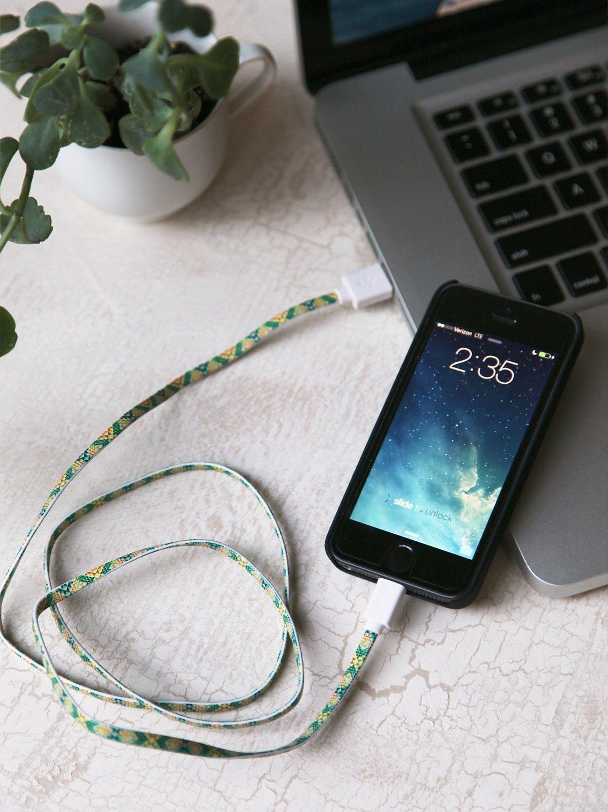 可充电和同步的iPhone数据线
