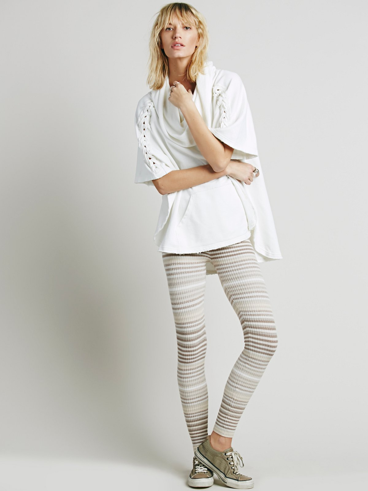 Marbled Stripe Legging