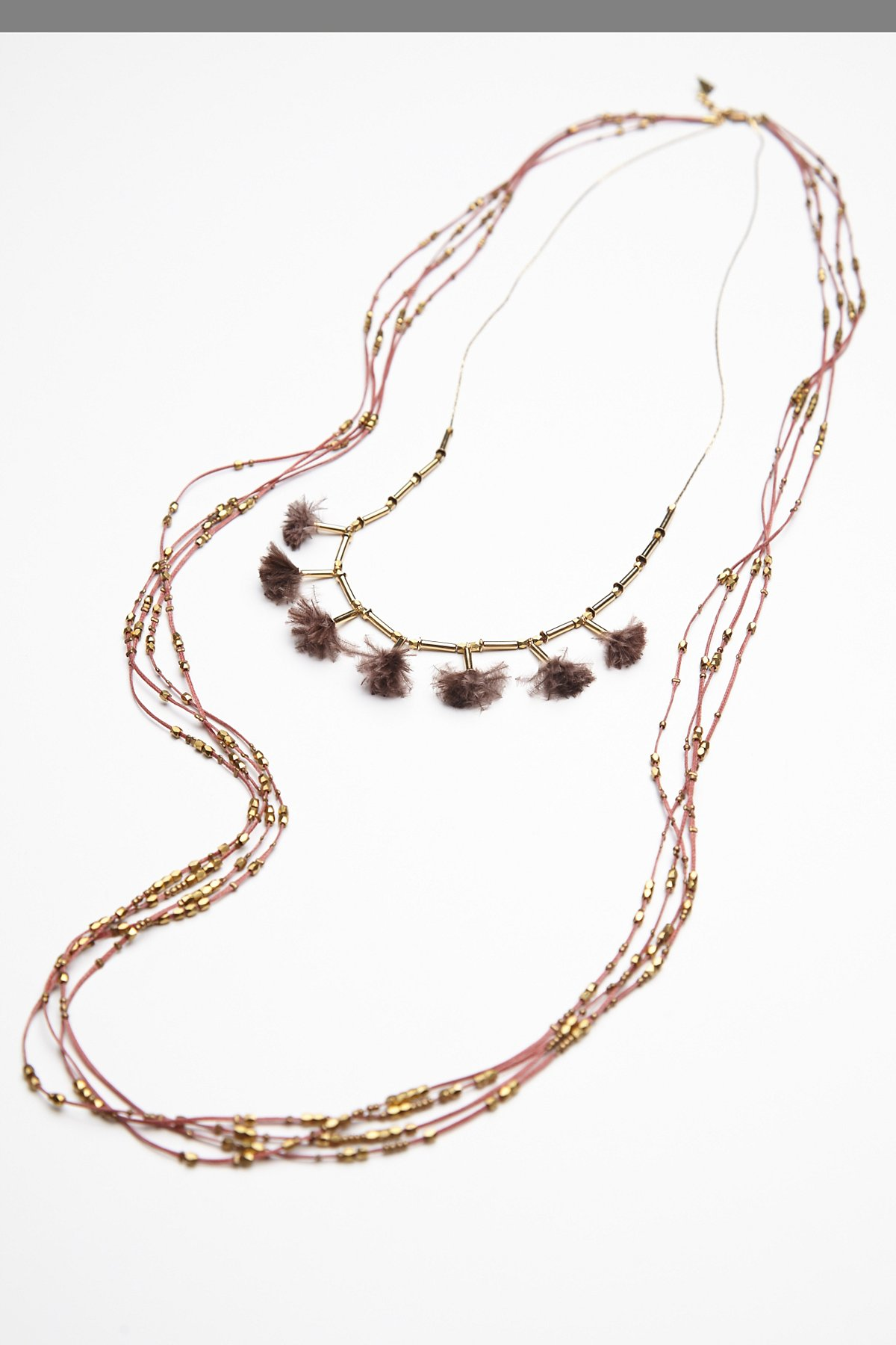 Feather Tassel Necklace