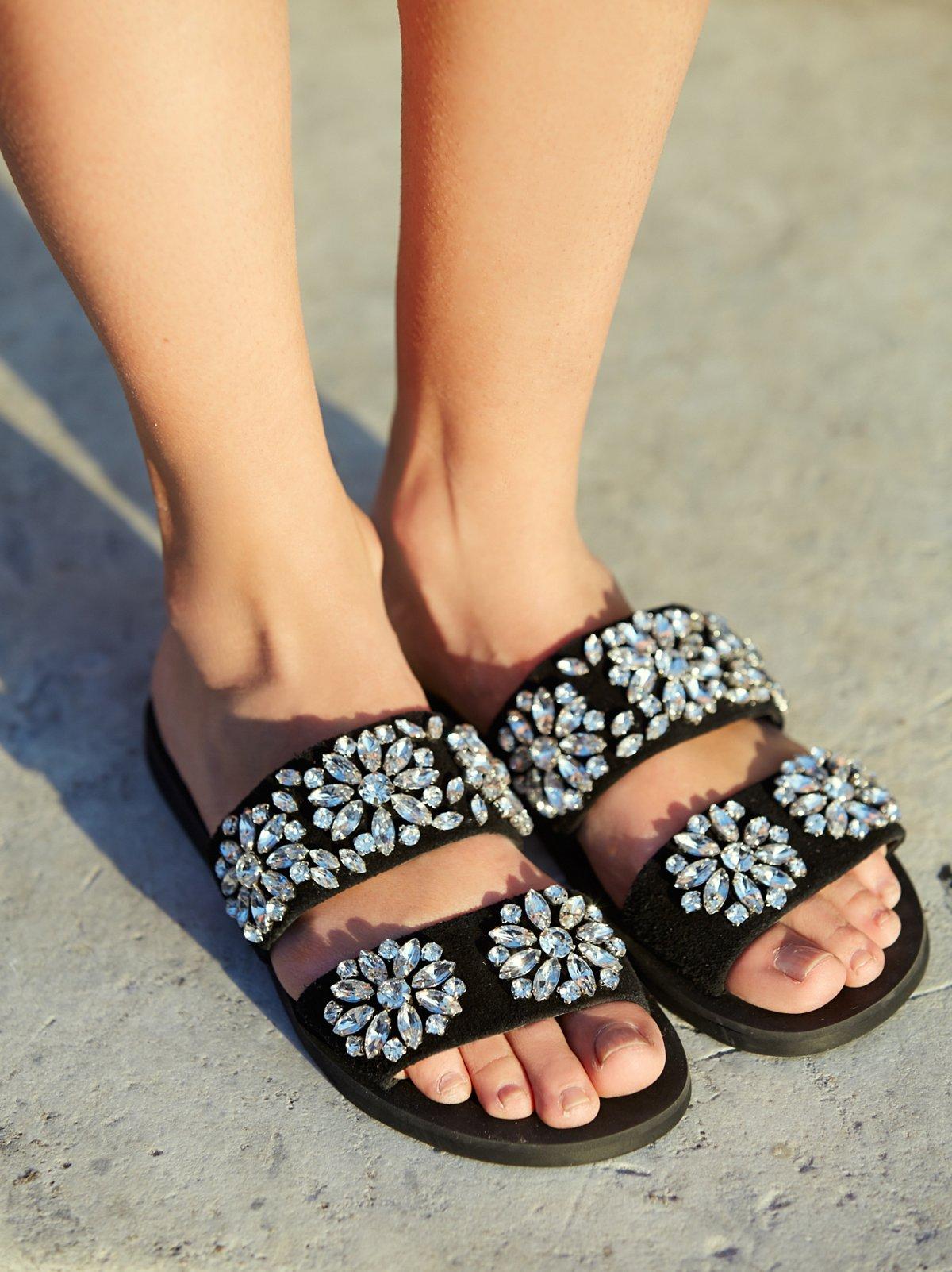Surface Glitter Sandal