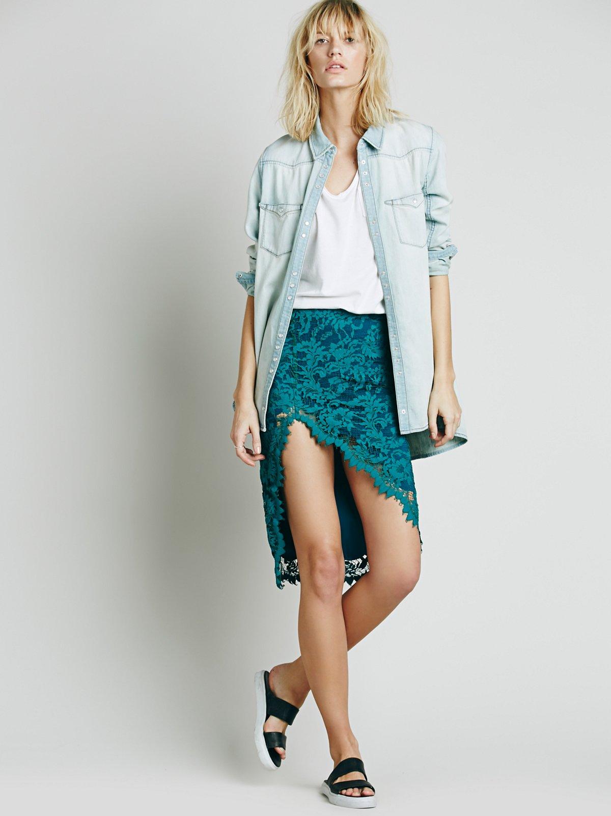 Maui Waui Lace Skirt