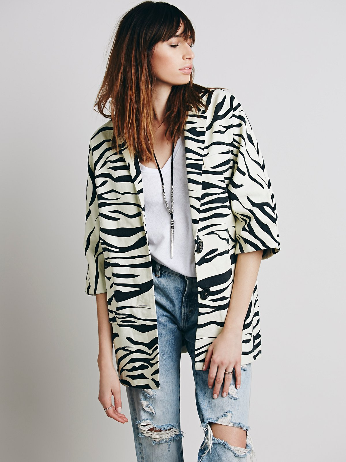 Canvas Animal Jacket