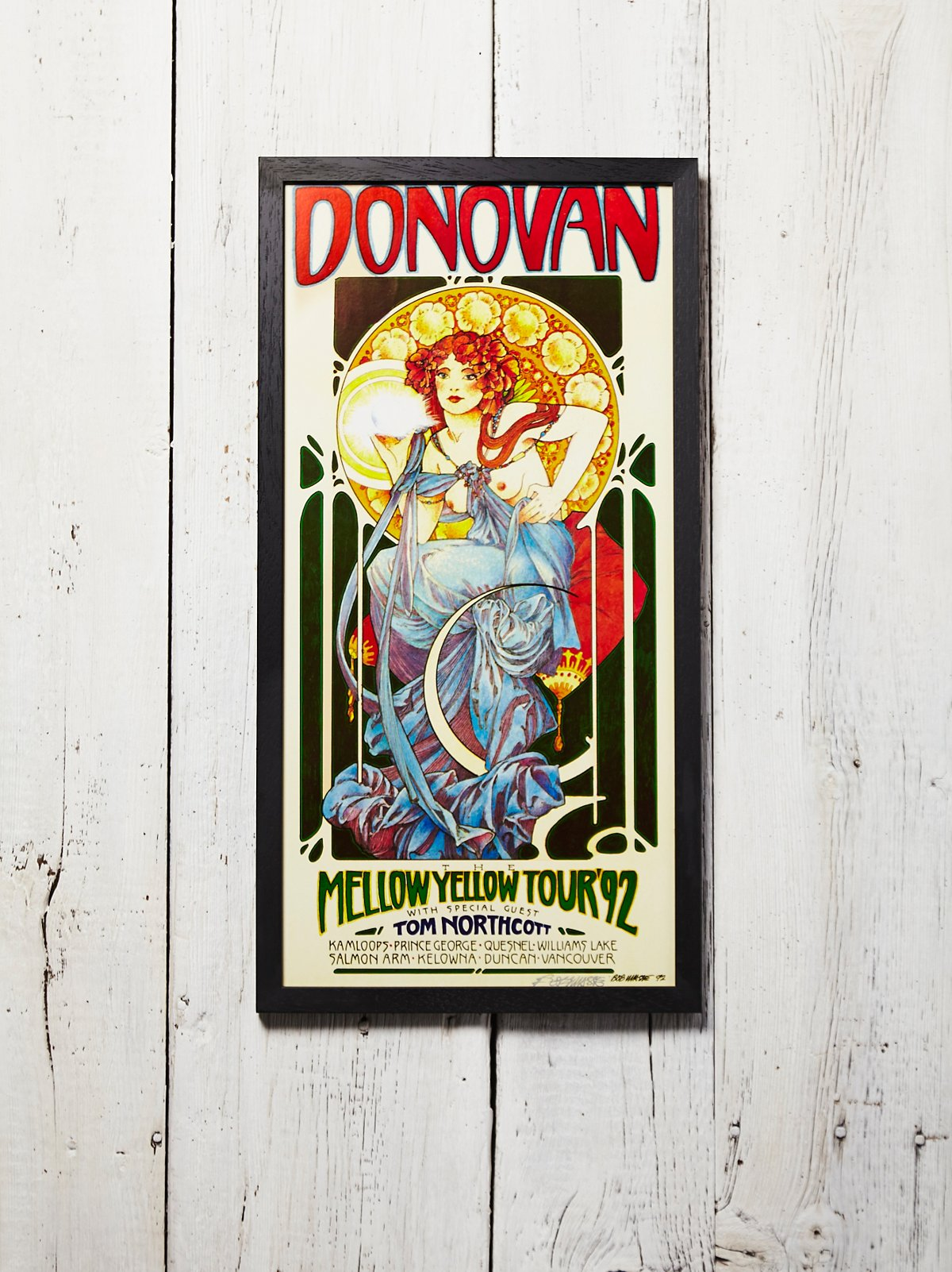 Vintage Donovan Poster