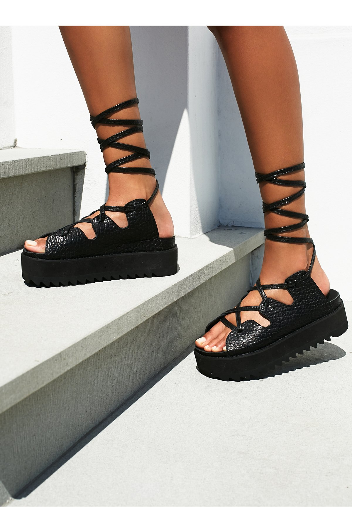 Tully Lace Up Sandal