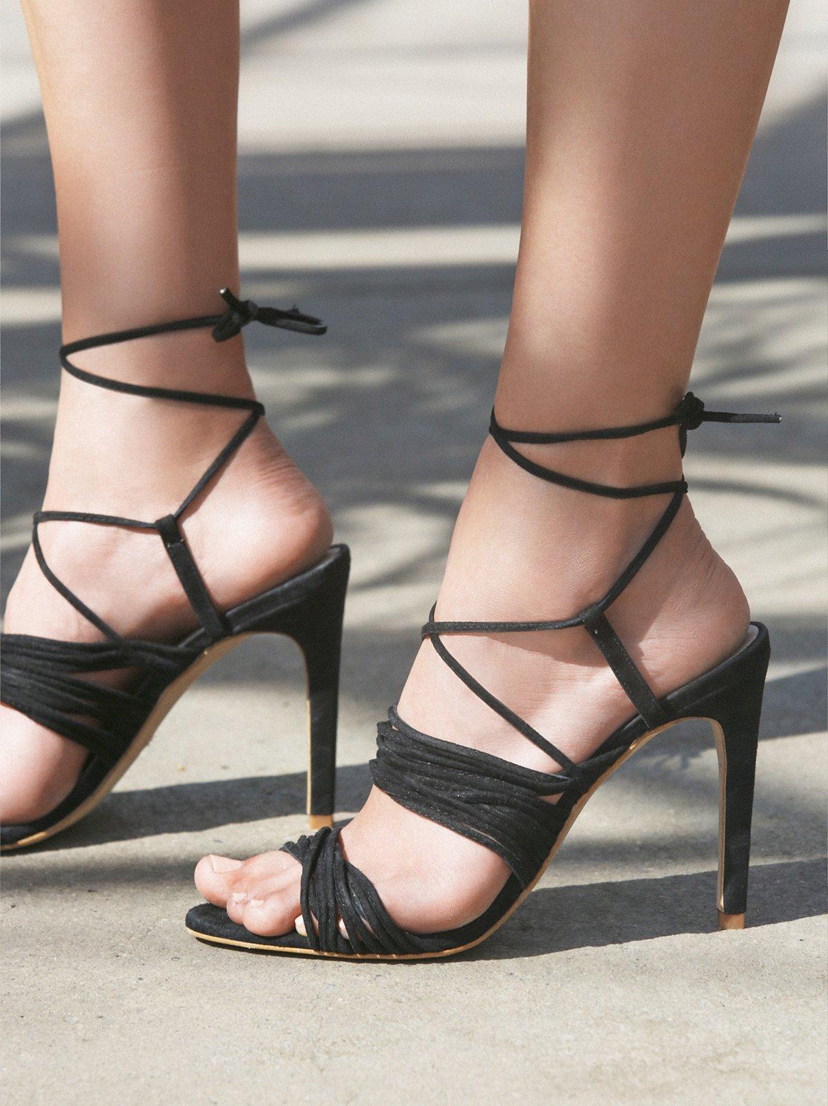 Riviera Strappy Heel