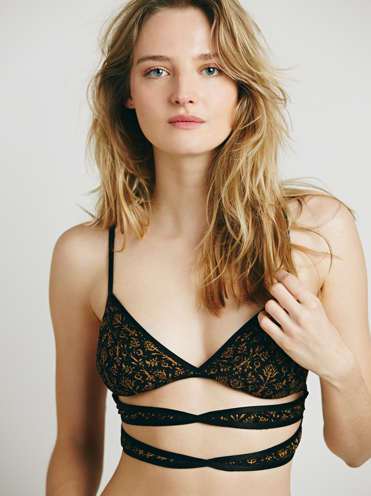 A Real Cut Up Soft Bra
