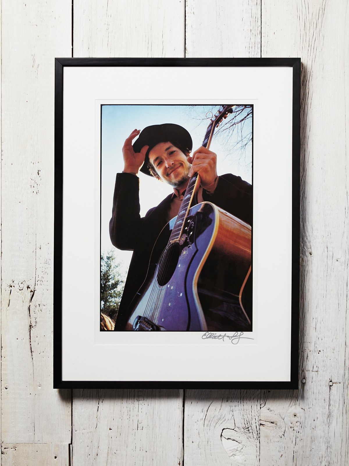 Vintage Bob Dylan Photograph