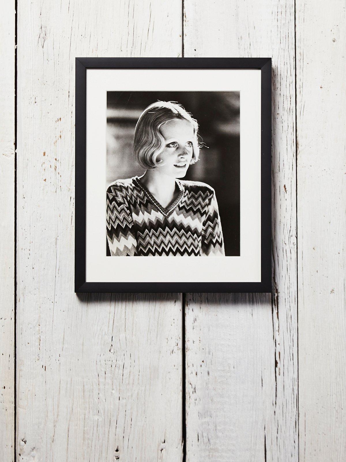 Vintage Twiggy Photograph