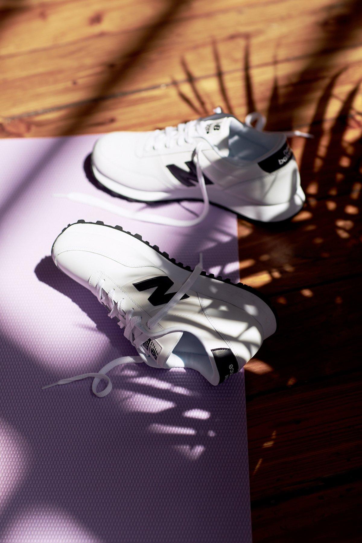 真皮运动鞋