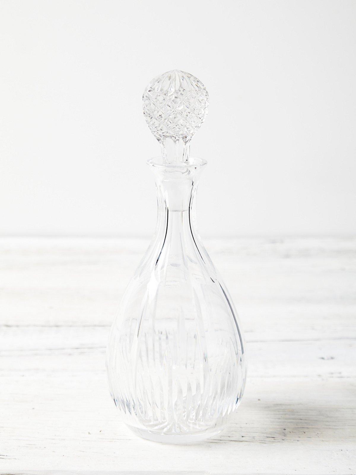Vintage Crystal Carafe