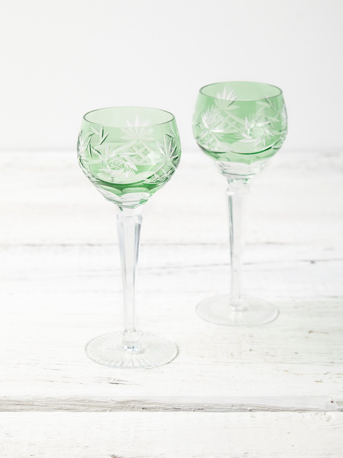 Vintage Champagne Glass Set
