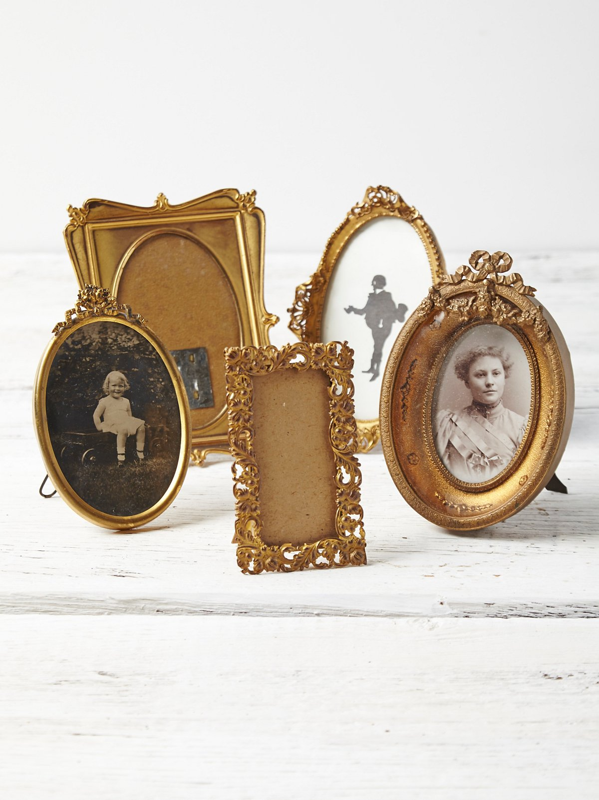 Vintage Picture Frame Set