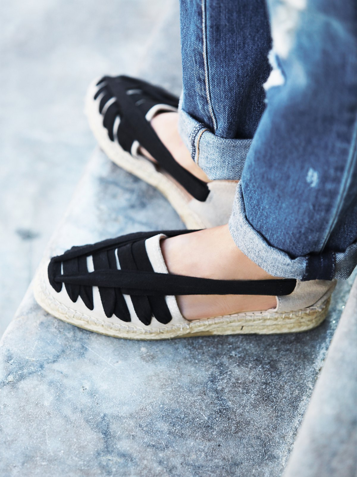 Seville麻底鞋