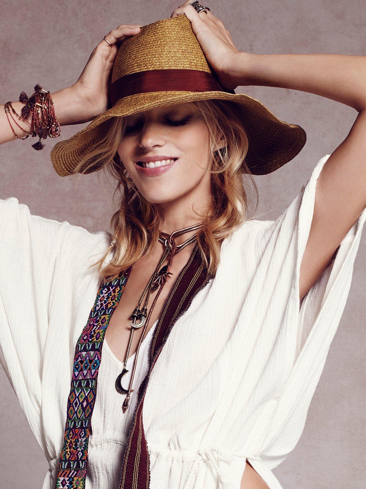 Eliza Straw Hat