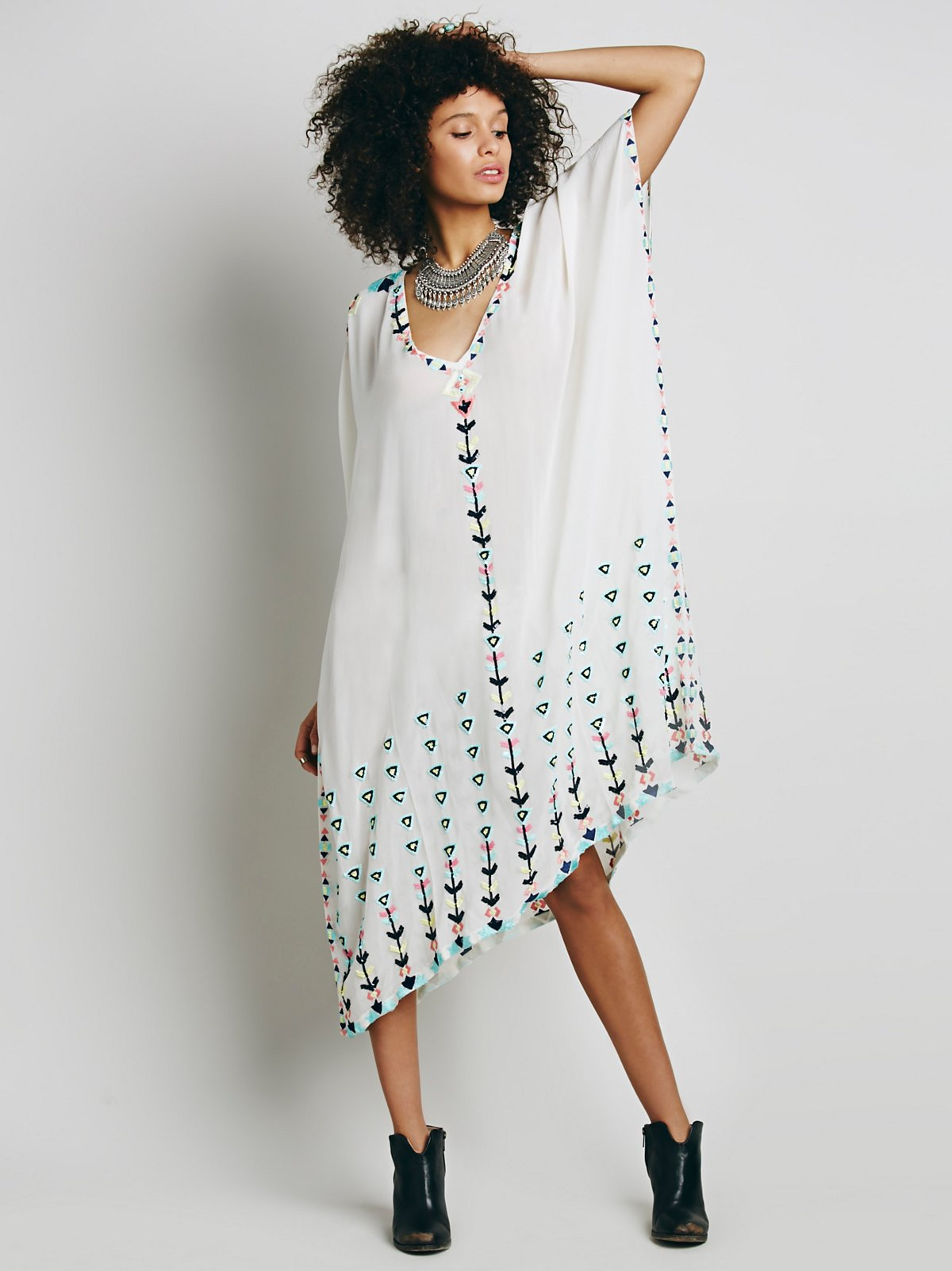 Antik Batik缀饰土耳其式长衫