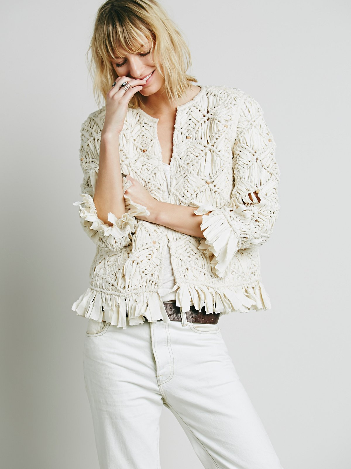 Heirloom Macrame Jacket