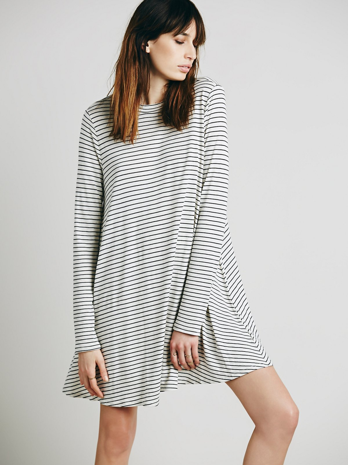 Striped Elise Dress