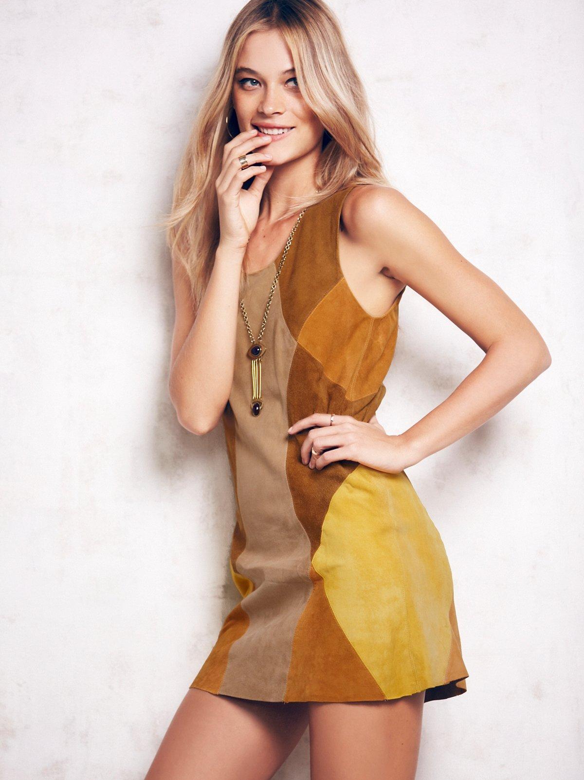 Penelope Patchwork Dress
