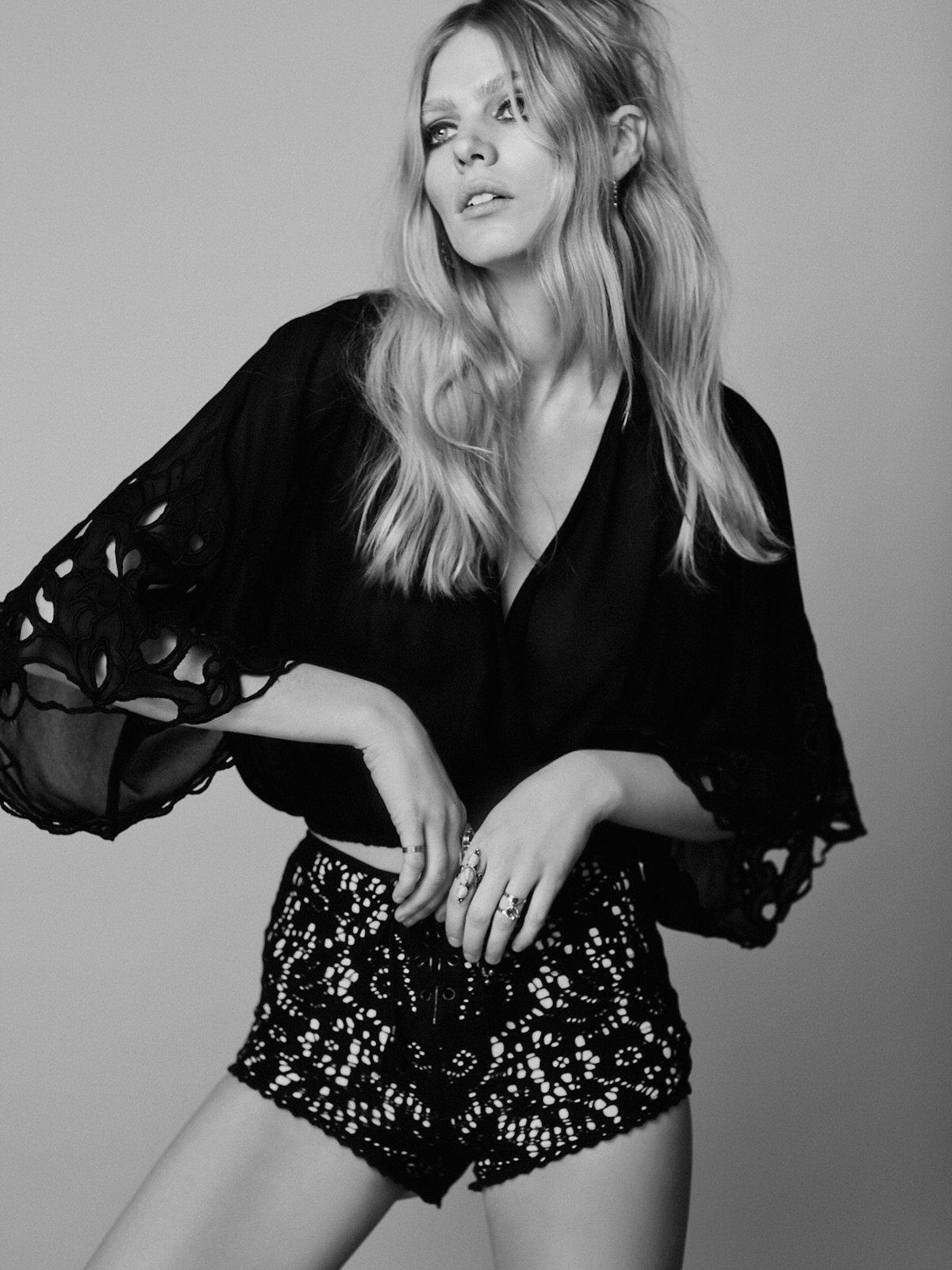 Fleetwood蕾丝短裤