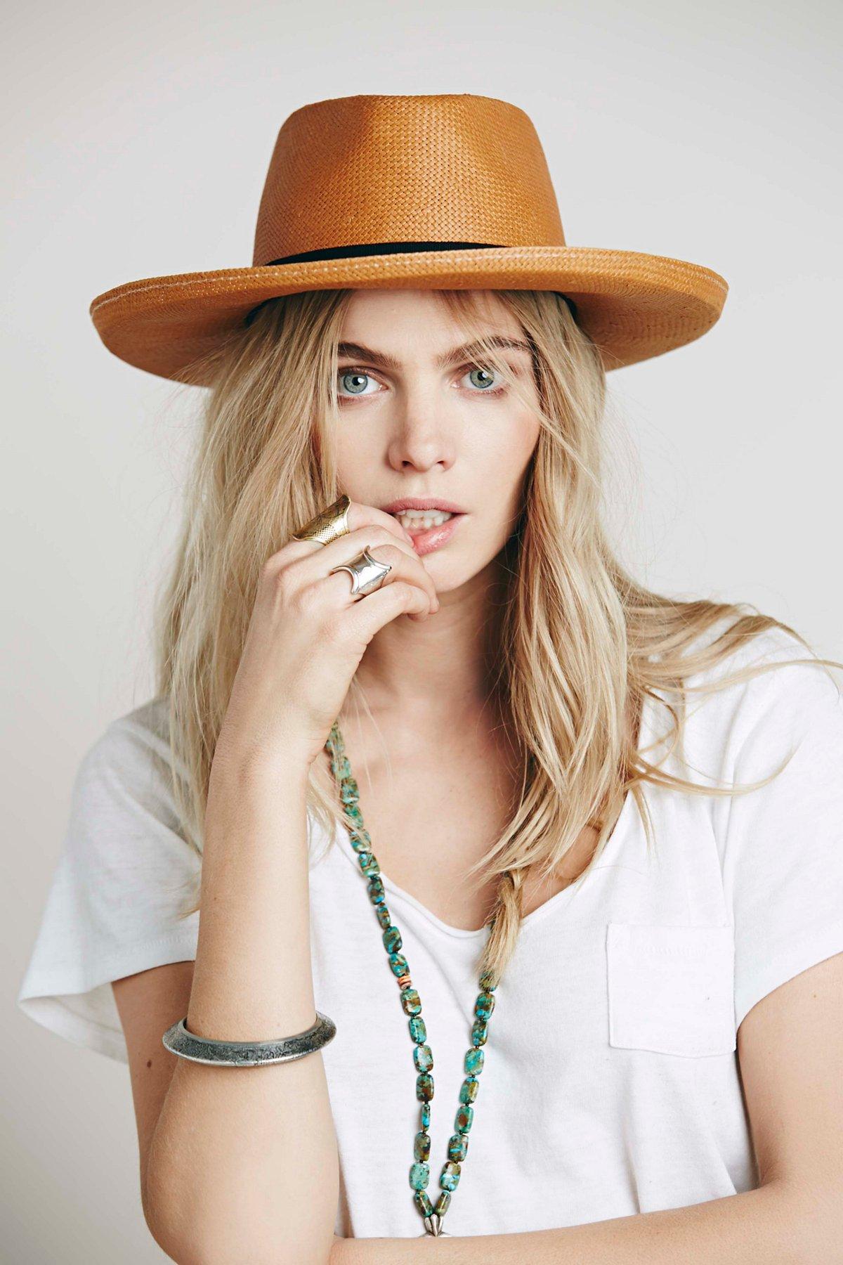 Ferney Straw Hat