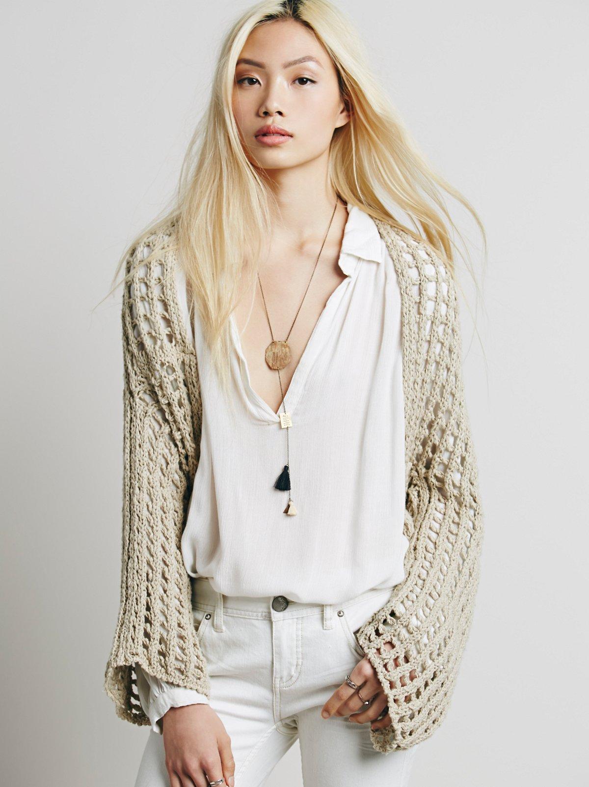 Trinity Shrug Sweater