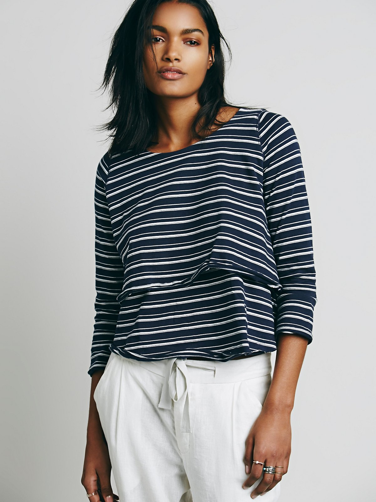 We The Free Call Me Stripe Top
