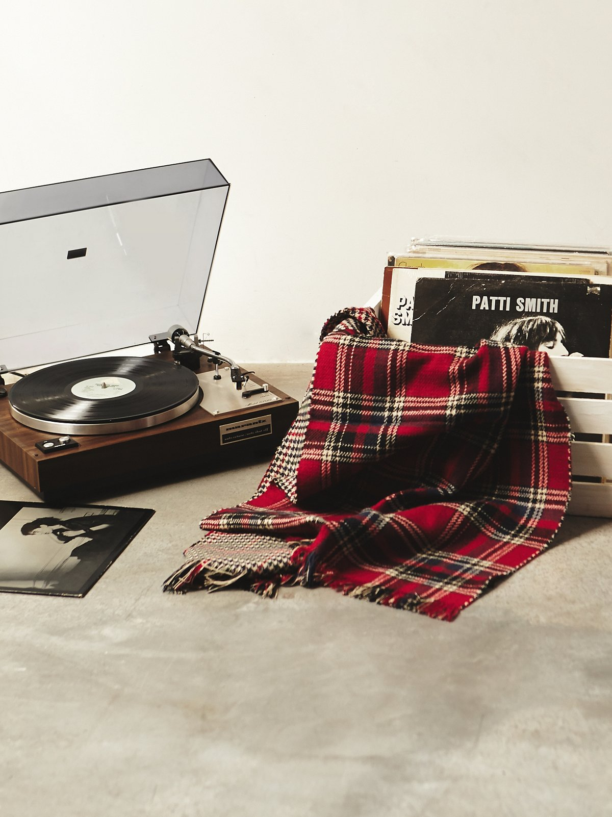 Vintage Patti Smith Record Collection