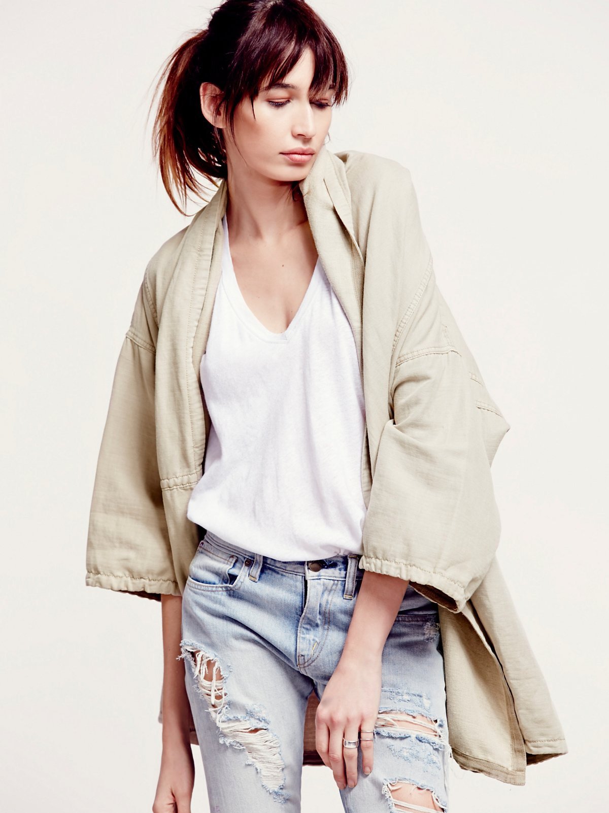 At the Seams Slouchy Jacket