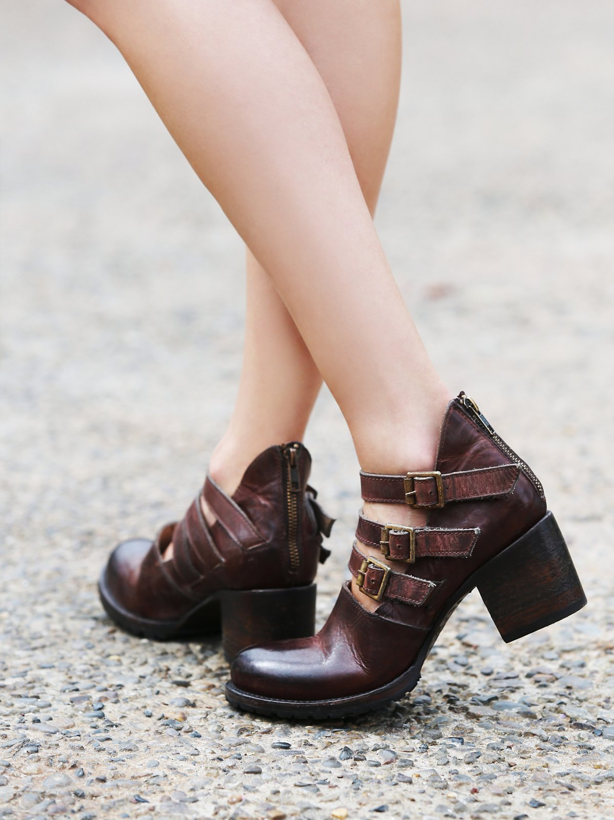 Blue Moon踝靴