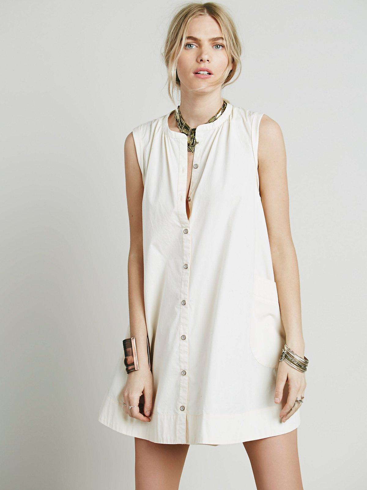 Road衬衫式连衣裙