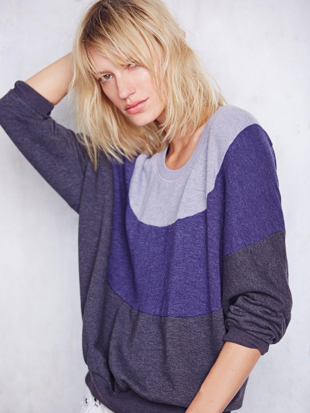 Tri Color Pullover