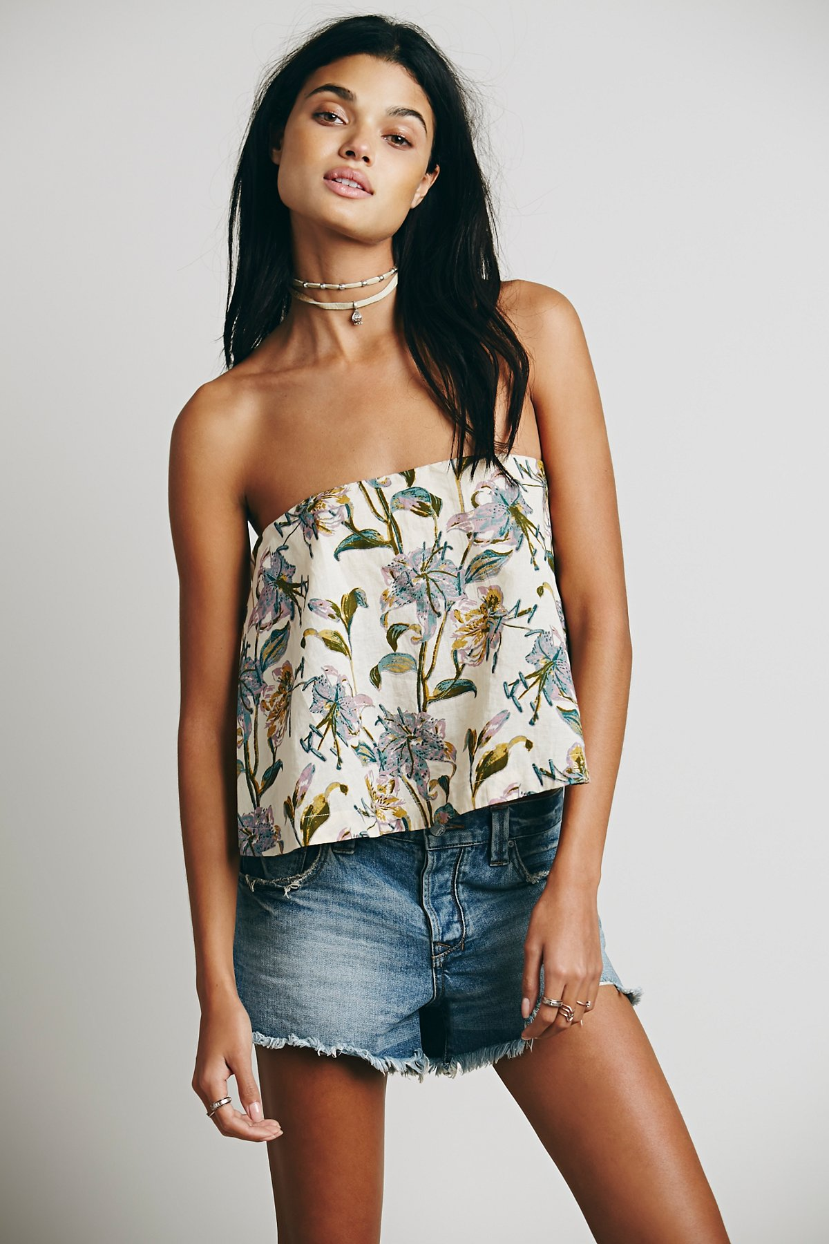 Floral Structured Tube