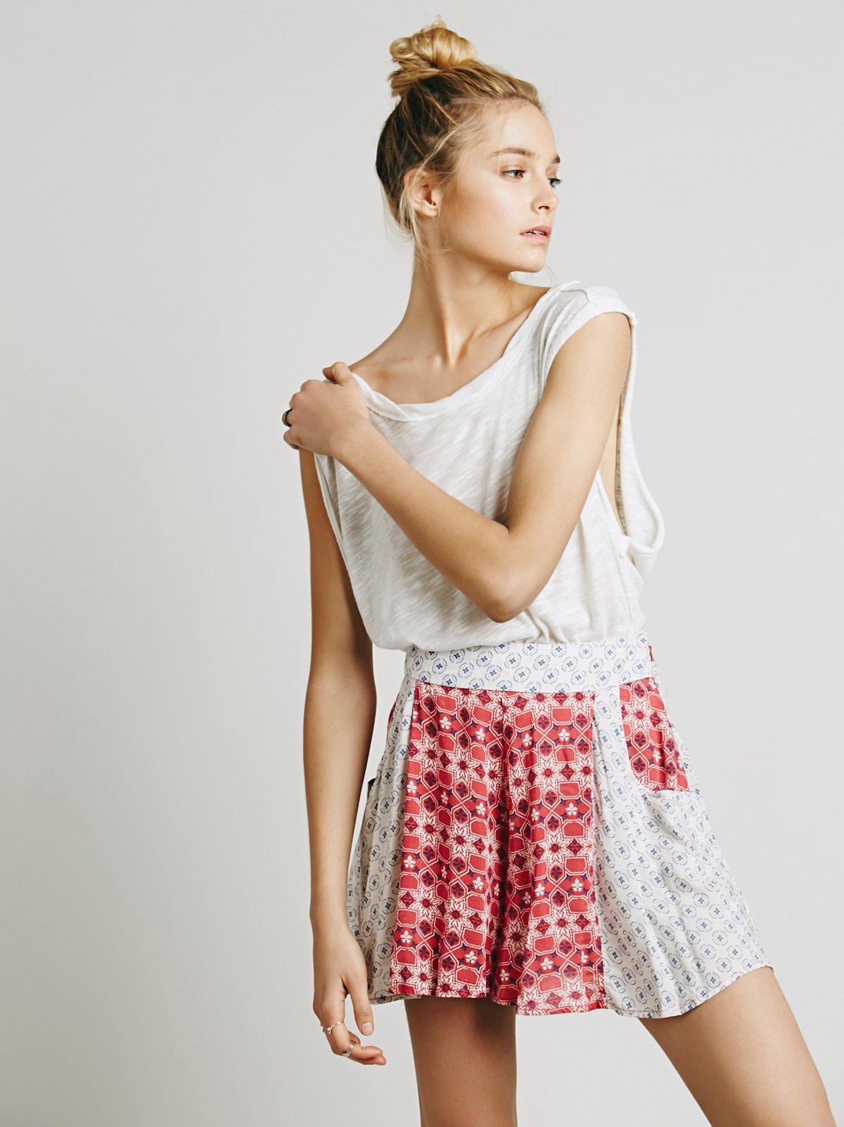 Melrose印花裙裤