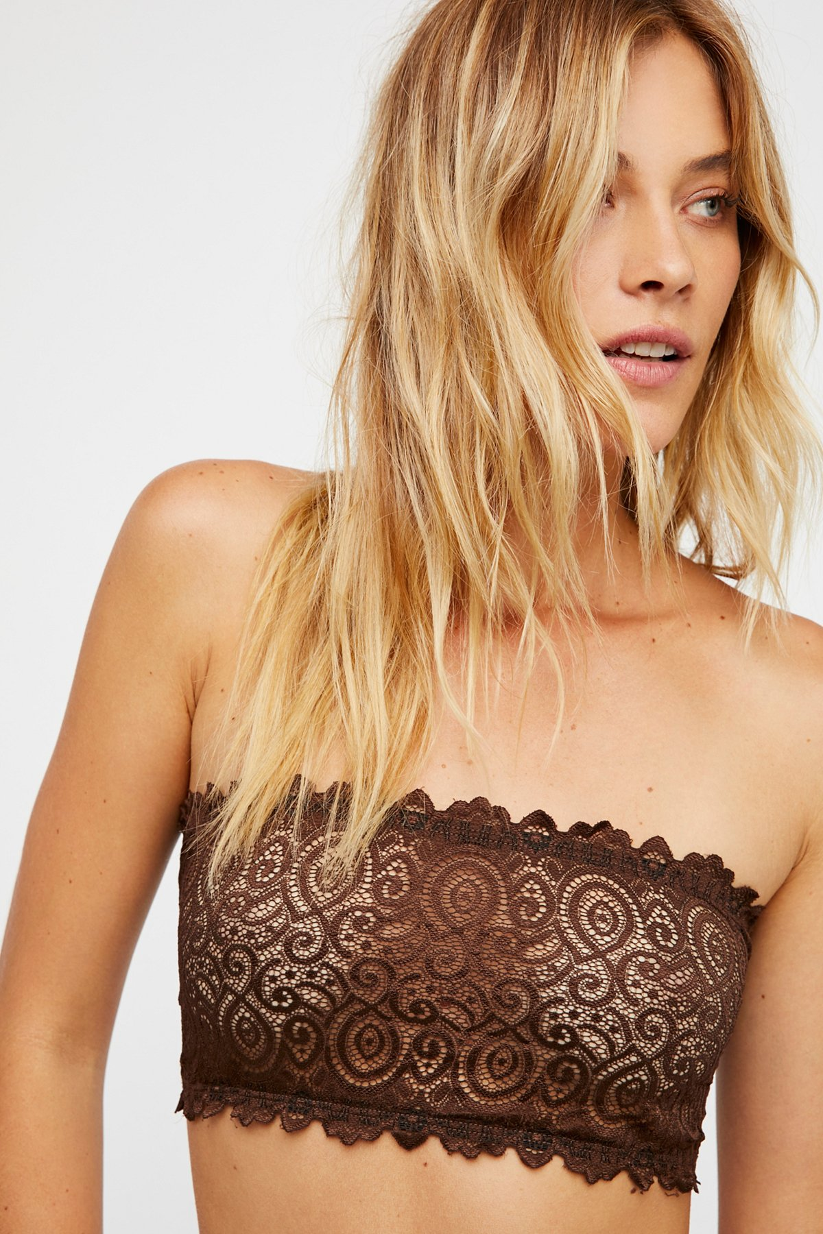 Seamless and Lace Reversible Bandeau